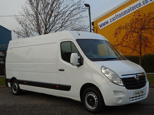 2011 61 VAUXHALL MOVANO F3500 L3-H2 Cdti 125 [ Mobile Jetting Unit ] van Fwd Ex Lease Free UK Delivery