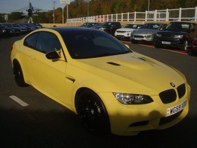 2010 59 BMW M3 4.0 M3 DAKAR DCT AUTO coupe 414 BHP