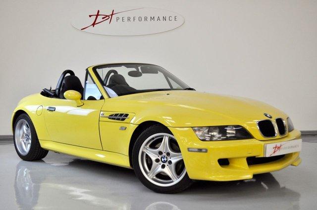 1999 BMW Z3 M 3.2 M ROADSTER 2d 321 BHP DAKAR YELLOW