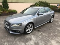 2010 AUDI A4 2.0 TDI S Line Special Edition 4dr £9950.00