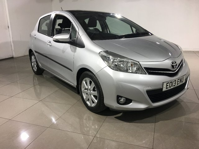 View our 2013 13 TOYOTA YARIS 1.33 VVT-i T Spirit M-Drive S 5dr