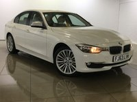 USED 2013 63 BMW 3 SERIES 2.0 320d Luxury xDrive 4dr (start/stop) Sat Nav / Leather / 1 Owner