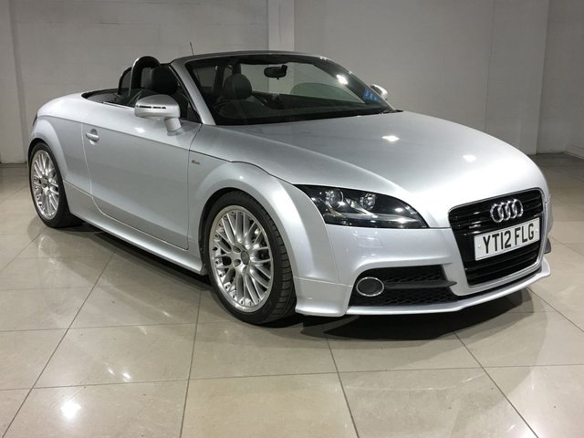 View our 2012 12 AUDI TT 2.0 TDI S Line Roadster Quattro 2dr