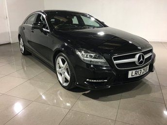 2013 MERCEDES-BENZ CLS CLASS 2.1 CLS250d CDI BlueEFFICIENCY AMG Sport 7G-Tronic Plus 4dr £19990.00