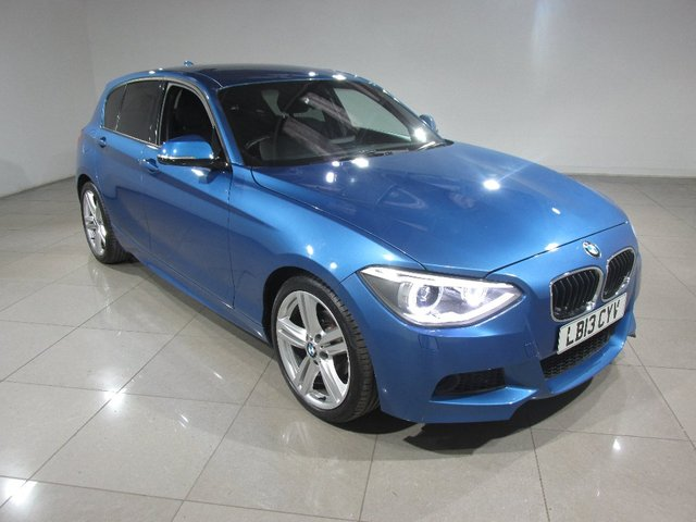 View our 2013 13 BMW 1 SERIES 2.0 116d M Sport Sports Hatch 5dr (start/stop)