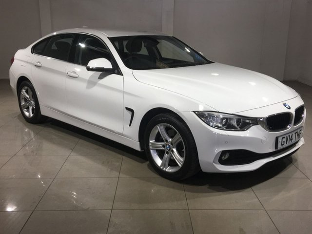 View our 2014 14 BMW 4 SERIES 2.0 420d SE Gran Coupe xDrive 4dr (start/stop)