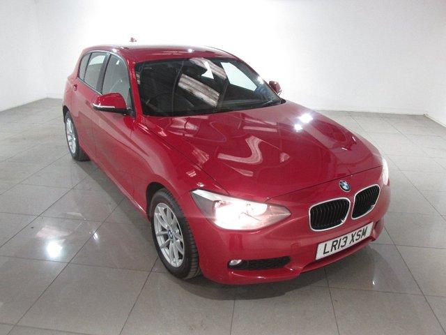 View our 2013 13 BMW 1 SERIES 2.0 118d SE 5dr