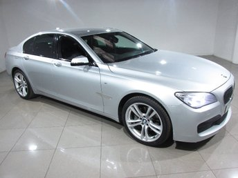 2014 BMW 7 SERIES 3.0 730d M Sport 4dr (start/stop) £23493.00