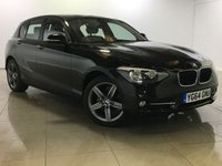 USED 2014 64 BMW 1 SERIES 2.0 116d Sport Sports Hatch 5dr (start/stop) Sat Nav / One Owner From New