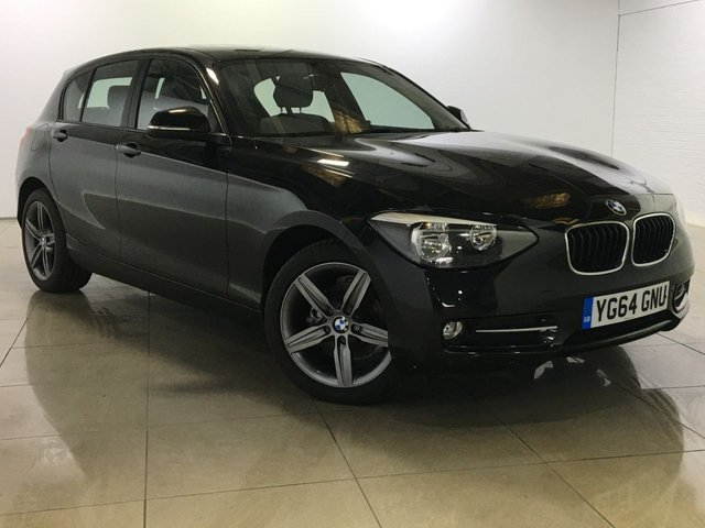 View our 2014 64 BMW 1 SERIES 2.0 116d Sport Sports Hatch 5dr (start/stop)