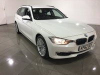 USED 2012 62 BMW 3 SERIES 2.0 320d Luxury Touring 5dr (start/stop) Black Leather/1 Owner From New