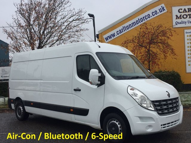 2013 13 RENAULT MASTER LM35 DCI 125ps L3H2 Panel van Air-Con Fwd Ex Lease FSH,Delivery can be arranged !