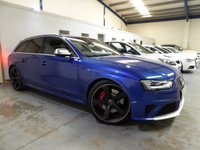 USED 2015 15 AUDI RS4 AVANT 4.2 TFSI Limited Edition S Tronic Quattro 5dr +PAN ROOF+BUCKET SEATS+SAT NAV+B&O+FASH+