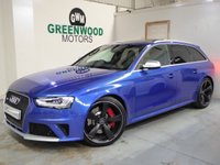 2015 AUDI RS4 AVANT 4.2 TFSI Limited Edition S Tronic Quattro 5dr £SOLD