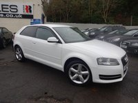 USED 2011 61 AUDI A3 1.6 MPI TECHNIK 3d 101 BHP NATIONALLY PRICE CHECKED DAILY