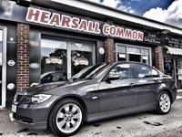 USED 2008 08 BMW 3 SERIES 2.0 320I EDITION SE 4d 168 BHP WWW.HEARSALLCOMMONCARSALES.CO.UK ~ HPI CLEAR~ANY TRIAL~FINANCE ME FROM £20.00 A WEEK!