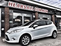 USED 2010 60 FORD FIESTA 1.2 ZETEC 3d 81 BHP WWW.HEARSALLCOMMONCARSALES.CO.UK ~ HPI CLEAR~ANY TRIAL~FINANCE ME FROM £28.12 A WEEK!