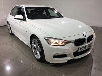 2015 BMW 3 SERIES 2.0 320D M SPORT 4d 181 BHP £17990.00