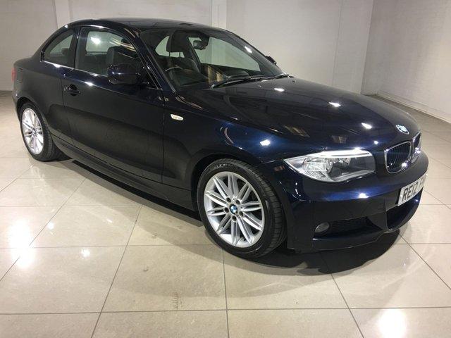 View our 2012 12 BMW 1 SERIES 2.0 120D M SPORT 2d AUTO 175 BHP