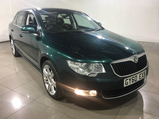 View our 2010 60 SKODA SUPERB 2.0 ELEGANCE TDI CR DSG 5d AUTO 170 BHP