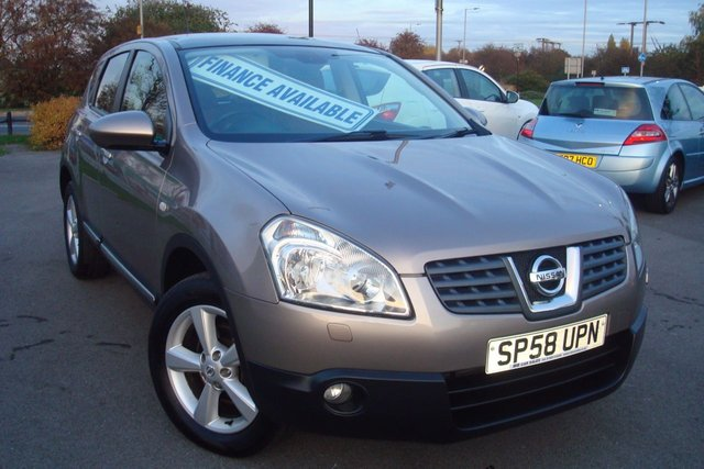 2008 58 NISSAN QASHQAI 2.0 TEKNA DCI 5d 148 BHP FULL LEATHER