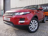 USED 2014 LAND ROVER RANGE ROVER EVOQUE 2.2 SD4 PURE 5d 190 BHP Full Dealer History, Low Mileage, No Fee Finance Available, No Deposit Necesary