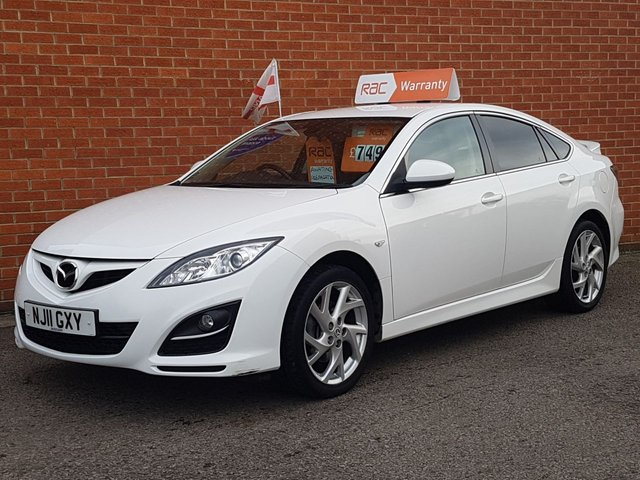 2011 11 MAZDA 6 2.0 TAKUYA 5d 155 BHP HEATED SEATS--BLUETOOTH