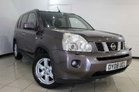 USED 2008 08 NISSAN X-TRAIL 2.5 AVENTURA EXPLORER 5DR AUTOMATIC 167 BHP SAT NAVIGATION + BLUETOOTH + PANORAMIC ROOF + REAR CAMERA + HEATED LEATHER