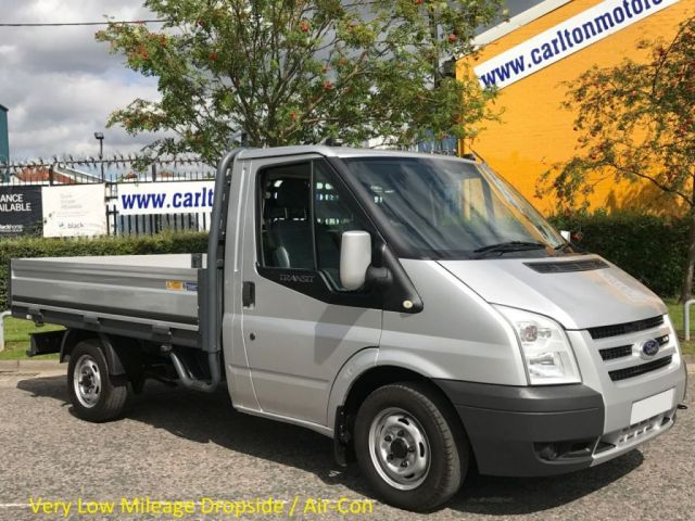 2008 08 FORD TRANSIT 2.2Tdci 110 T300s Dropside/Pickup Very Low mileage only 28k