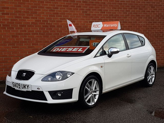 2009 09 SEAT LEON 2.0 FR CR TDI 5d 168 BHP NEW SHAPE