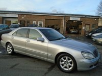 USED 2003 03 MERCEDES-BENZ S CLASS 3.2 S320 CDI L 4d AUTO 204 BHP GREAT VALUE LIMO + MOT SEPT 18