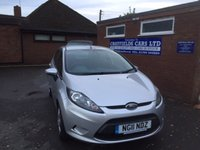 USED 2011 11 FORD FIESTA 1.4 EDGE TDCI 5d 69 BHP