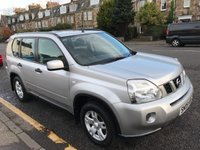 USED 2009 09 NISSAN X-TRAIL 2.0 SE 16V 5d 139 BHP OUR  PRICE INCLUDES A 6 MONTH AA WARRANTY DEALER CARE EXTENDED GUARANTEE, 1 YEARS MOT AND A OIL & FILTERS SERVICE. 6 MONTHS FREE BREAKDOWN COVER.   CALL US NOW FOR MORE INFORMATION OR TO BOOK A TEST DRIVE ON 01315387070 !! !! LIKE AND SHARE OUR FACEBOOK PAGE !!