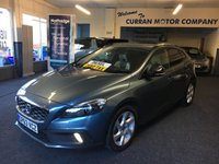 USED 2013 63 VOLVO V40 1.6 D2 CROSS COUNTRY LUX 5d 113 BHP Zero Road Tax