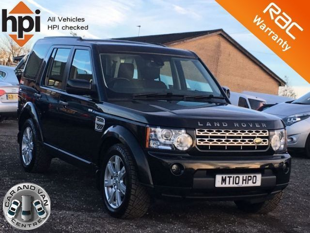 2010 10 LAND ROVER DISCOVERY 4 3.0 TDV6 GS 5d AUTO 7 SEATER