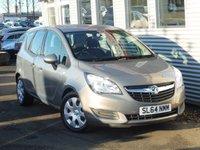 2014 VAUXHALL MERIVA 1.7 EXCLUSIV AC CDTI 5d AUTO 108 BHP £7650.00