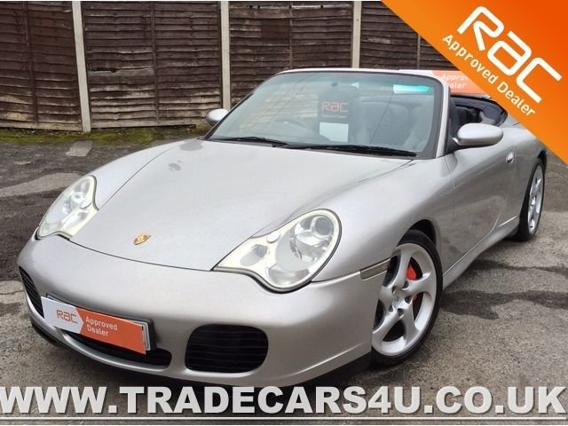 2004 04 PORSCHE 911 CARRERA 4S CABRIOLET TIPTRONIC WITH HARDTOP