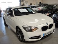 USED 2014 64 BMW 1 SERIES 2.0 116D SPORT 5d 114 BHP COUNTRY WIDE DELIVERY ARRANGED