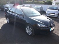 2011 VOLKSWAGEN GOLF 1.6 SE TDI BLUEMOTION 5 DR DIESEL ESTATE £6295.00