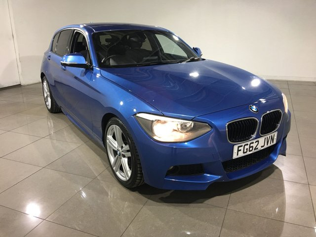 View our 2012 62 BMW 1 SERIES 2.0 120D M SPORT 5d 181 BHP