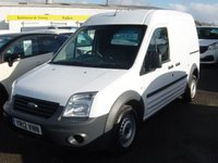 2012 FORD TRANSIT CONNECT 1.8 T230 HR 1d 90 BHP LONG WHEELBASE HIGH ROOF £5495.00