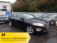 USED 2012 12 FORD MONDEO 1.6 TITANIUM X TDCI 5d 114 BHP NATIONALLY PRICE CHECKED DAILY
