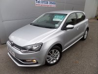 2014 VOLKSWAGEN POLO 1.0 SE 5d 74 BHP FACELIFT MODEL DAB RADIO 27000 MILES £8495.00