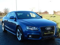 2009 AUDI A5 2.0 TFSI S LINE SPECIAL EDITION 2d 178 BHP £11990.00