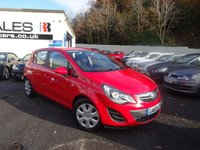 USED 2013 63 VAUXHALL CORSA 1.2 EXCLUSIV AC CDTI ECOFLEX S/S 5d 93 BHP NATIONALLY PRICE CHECKED DAILY