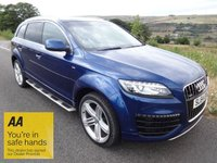 USED 2014 64 AUDI Q7 3.0 TDI QUATTRO S LINE SPORT EDITION 5d AUTO 245BHP '' YOU'RE IN SAFE HANDS '' WITH THE AA DEALER PROMISE