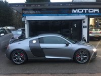 USED 2012 12 AUDI R8 4.2 V8 LIMITED EDITION 2d AUTO 424 BHP SOLD