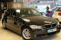 USED 2007 56 BMW 3 SERIES 2.0 318I ES 4d AUTO 128 BHP FSH+16 INCH ALLOYS+BMW 6 CD CHANGER+BMW PROFESSIONAL RADIO+ELECTRIC/HEATED MIRRORS