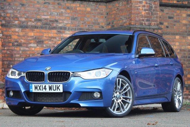 2014 14 BMW 3 SERIES 3.0 335d M Sport Touring Sport Auto xDrive 5dr (start/stop)