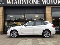 2015 BMW X1 2.0 SDRIVE18D M SPORT 5d AUTO 141 BHP £21995.00